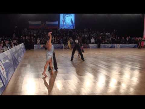 ANDREY GUSEV & ELIZAVETA CHEREVICHNAYA - IDSF INTERNATIONAL OPEN LATIN IN MOSCOW 2011 - SEMIFINAL 1