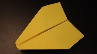 How to make a simple cool fastest paper plane origami ever: instruction| Cheetah
