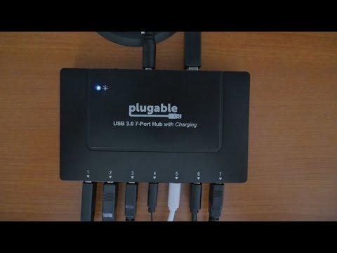 Pluggable 7 Port USB 3.0 Hub- The Best USB Hub I've Used