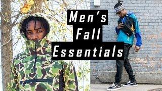 Men's Fall Fashion Essentials Haul 2017 | Affordable Streetwear Essentials
