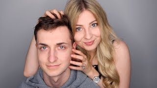 ASMR WITH MY BOYFRIEND (PAIN ) | TINGLY HEAD MASSAGE, SCRATCHING AND HAIR BRUSHING ... 😴