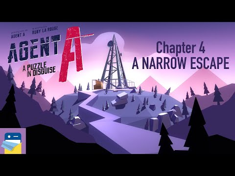 Agent A: Chapter 4, A Narrow Escape: Complete Walkthrough Guide & iOS Gameplay (by Yak & Co)