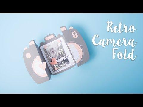 How to Create a Fold-a-Long Retro Camera Card - Sizzix
