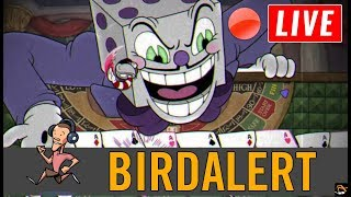 CUPHEAD EXPERT - King Dice and The Devil EXPERT MODE! | Birdalert [PC] (CHILL, CHAT!)