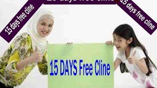 15 DAYS FREE CLINE
