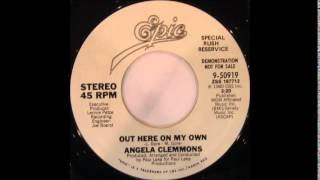 Angela Clemmons - Out Here On My Own