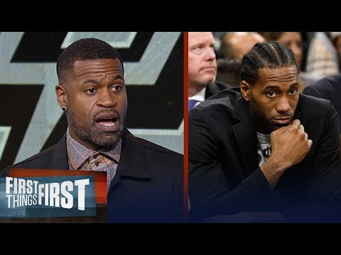 Stephen Jackson on why the Kawhi-less Spurs offer no resistance to Warriors   FIRST THINGS FIRST
