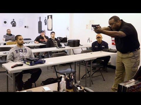 Conceal Carry Class Prepares Gun Permit Seekers