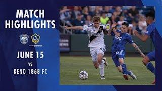 HIGHLIGHTS: Reno 1868 FC vs. LA Galaxy II | June 15, 2019