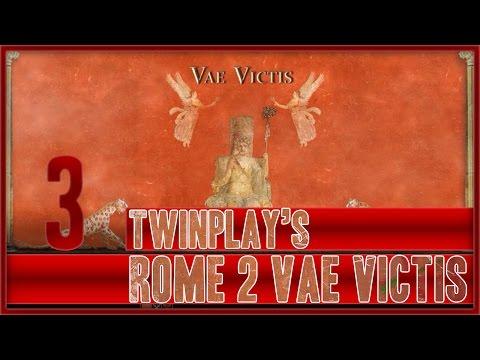 TwinPlays Total War Rome 2 - Vae Victis Mod Turdetani  #03