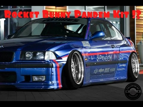 Fuckboi ricer buys a e36 pandem kit from CarbonFiber hoods - worlds loudest ruined rocket bunny e36