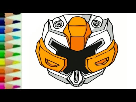 Belajar Menggambar Tobot X Carbot Kartun Robot Transformers Untuk