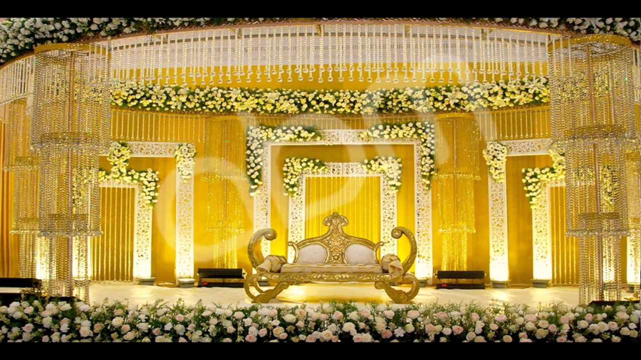 South Indian Richest Wedding Decorations Youtube
