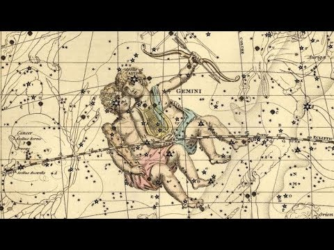 Zodiacal Constellation GEMINI. Ancient ASTROLOGY with Babylonian Astrologer Krasi