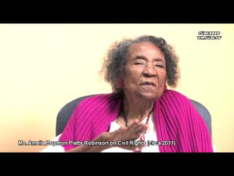 Amelia Boynton Robinson Interview 2011