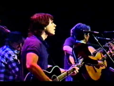 Dark Hollow (w Joan Baez) - Jerry Garcia & Bob Weir (acoustic) 12-17-1987 - Warfield Thea., SF. (5)