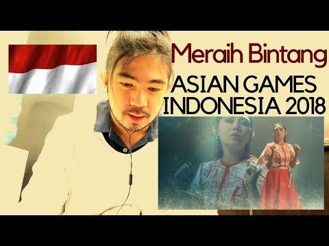 [SAUDI EXPATS REACTS]MERAIH BINTANG - Via Vallen - Official Theme Song Asian Games 2018
