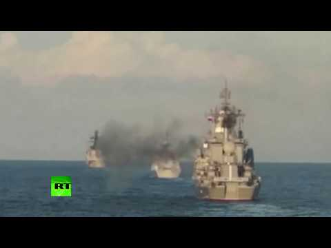 RAW: Joint Sea 2017 China-Russia drills come to close in Okhotsk Sea