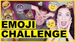 The Emoji Face Challenge With My Dad