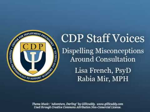 CDP Podcast Consultation