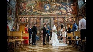 Свадьба в Праге в замке Троя в стиле Hard Rock Алексея и Натальи