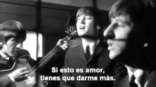The beatles  I should have known better subtitulado en español