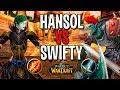 HANSOL VS SWIFTY | МАГ VS ВАР В WOW