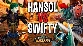 HANSOL VS SWIFTY | МАГ VS ВАР В WOW