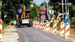Uwaga droga w Pustyni zamknięta!  Mieszkańcy boją się o swoje bezpieczeństwo i grożą przerwaniem pra