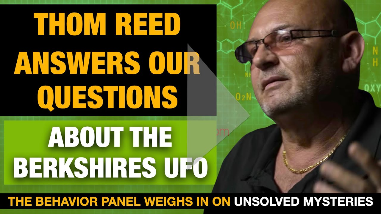 Thom Reed Answers The Behavior Panel's Questions About The Berkshires UFO