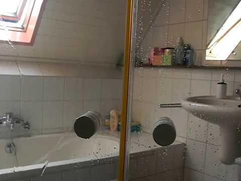 Nano Coating Badkamer : Nano coating voor de glazen douche deur youtube