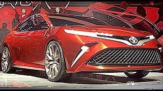 видео Новый Toyota Camry 2018 представлен в Детройте на auto-show