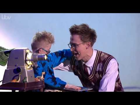 Tom Fletcher - The Christmasaurus at the Royal Variety Performance