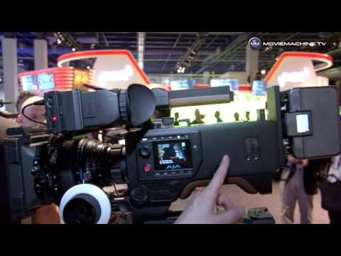 AJA CION: 4K, Ultra HD, 2K, HD professional camera