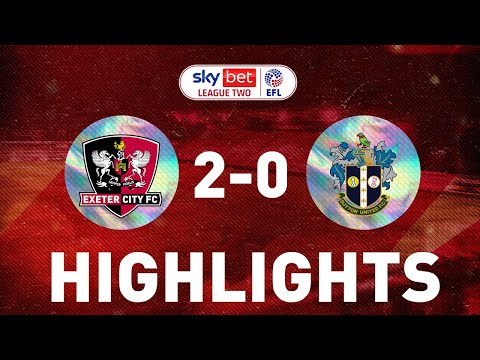 Exeter City Sutton Goals And Highlights