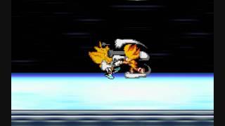 Super Sonic vs Super Silver