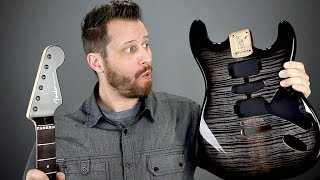 Building a SuperStrat! - Unboxing All The Goodies!