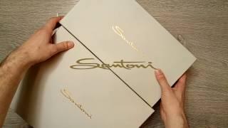 Получасовой обзор кроссовок Santoni. Сникеры за 30 000. - Видео от NAKED BOOTS