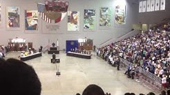 Naturalization ceremony at M.O. Campbell Educational Center