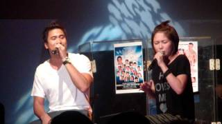 Yeng Constantino and Sam Milby - I