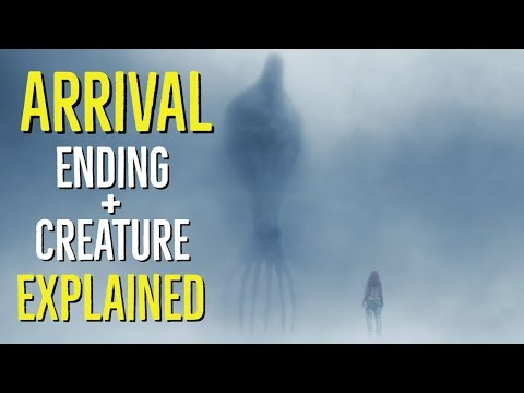 ARRIVAL (2016) Ending + Creature EXPLAINED