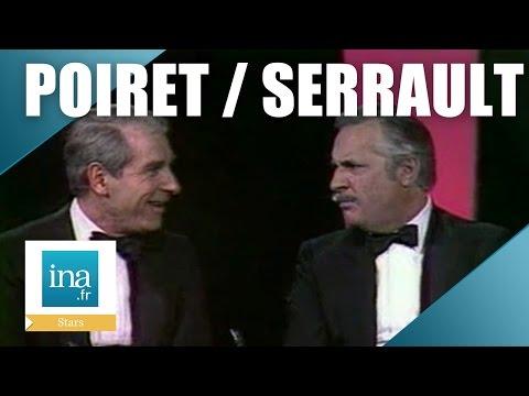 Jean Poiret et Michel Serrault chantent chez Michel Drucker | Archive INA