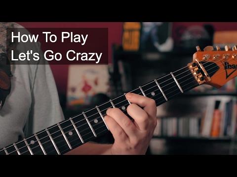 Prince - Let's Go Crazy Rhythm Guitar Tutorial