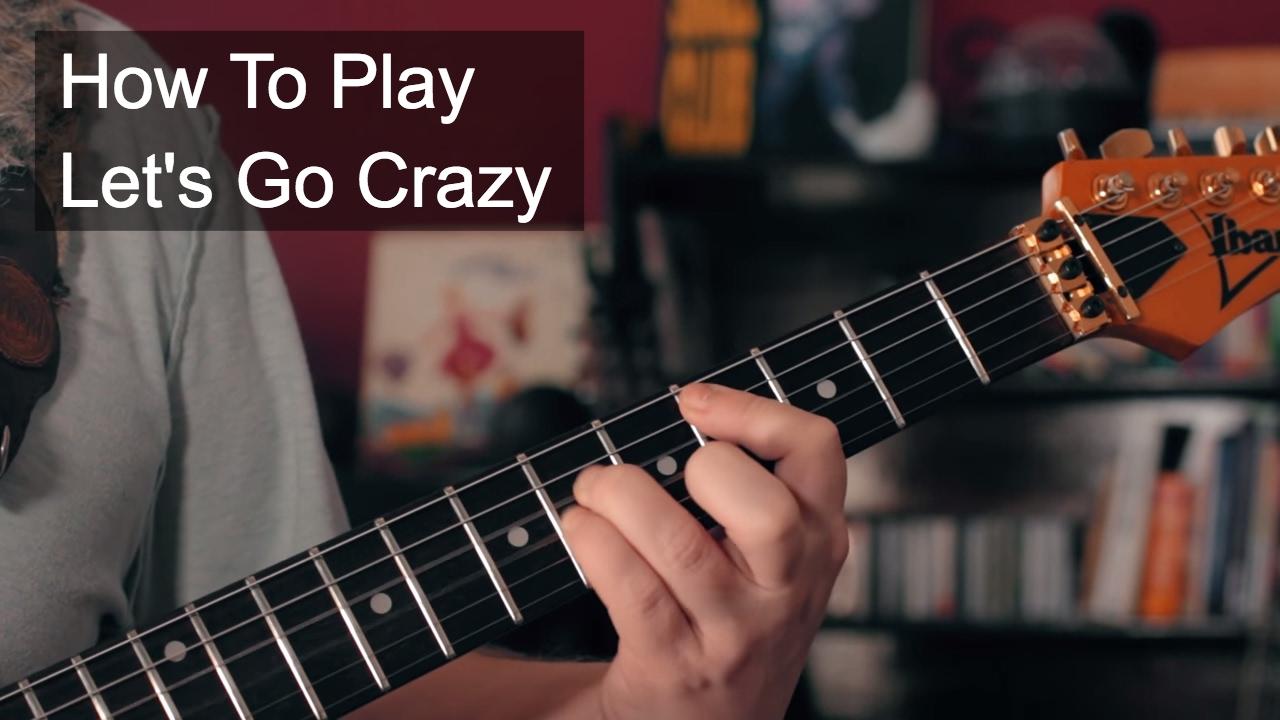 Download Prince - Let's Go Crazy Rhythm Guitar Tutorial