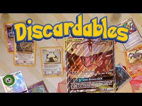Discardables – Storage Tips & My Favorite Pokémon Cards