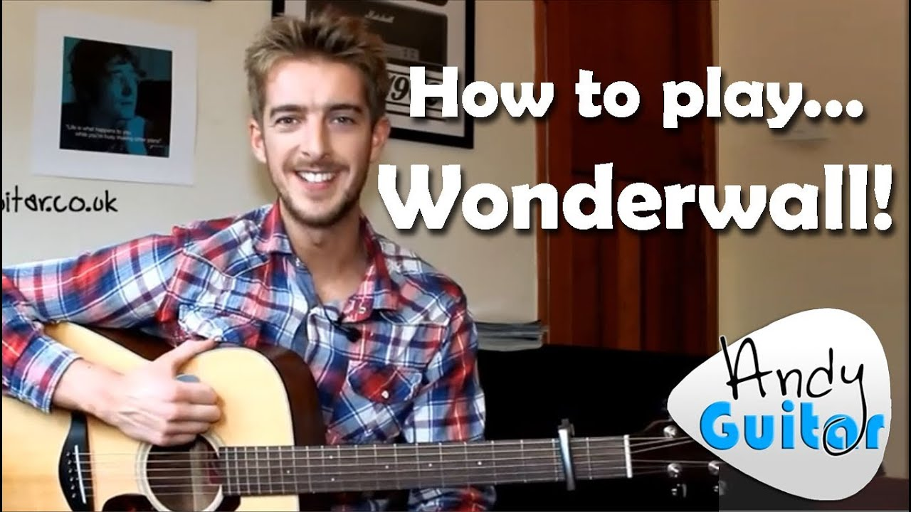 wonderwall oasis how to play easy beginner guitar songs youtube. Black Bedroom Furniture Sets. Home Design Ideas