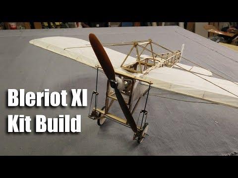 Bleriot XI Balsa Kit Build
