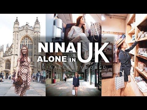 TRAVEL    Alone in UK เที่ยวคนเดียวประเทศอังกฤษ    NinaBeautyWorld