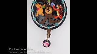 Winnie the pooh animated clock (Winnie the Pooh singing with Tigger and Piglet)