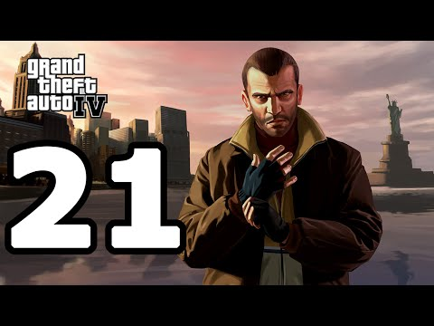 Grand Theft Auto IV Walkthrough Part 21 - No Commentary Playthrough (PC)